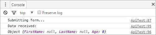 将JSON内容发布到ASP.NET Core控制器