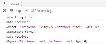 Model binding JSON POSTs in ASP NET Core