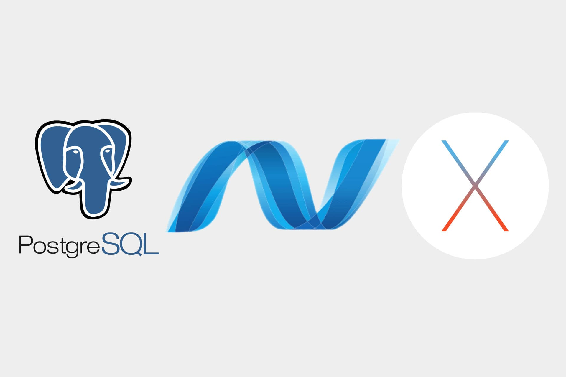 Adding EF Core and PostgreSQL to an ASP.NET Core project on OS X