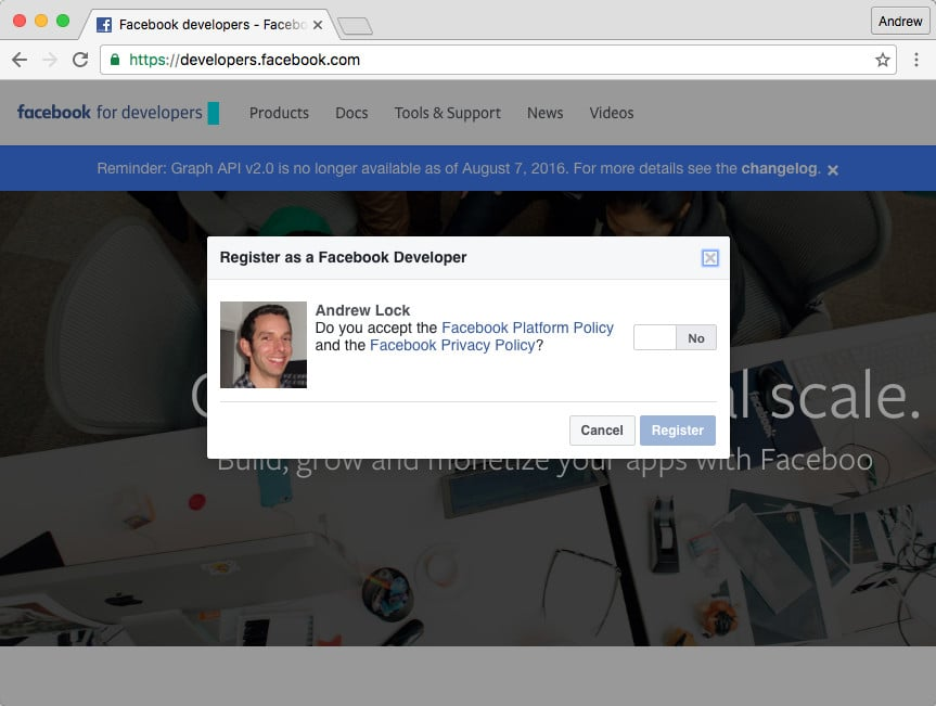 An introduction to OAuth 2 0 using Facebook in ASP NET Core