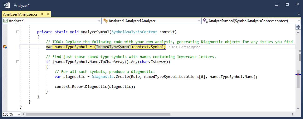 Creating a  NET Standard Roslyn Analyzer in Visual Studio 2017