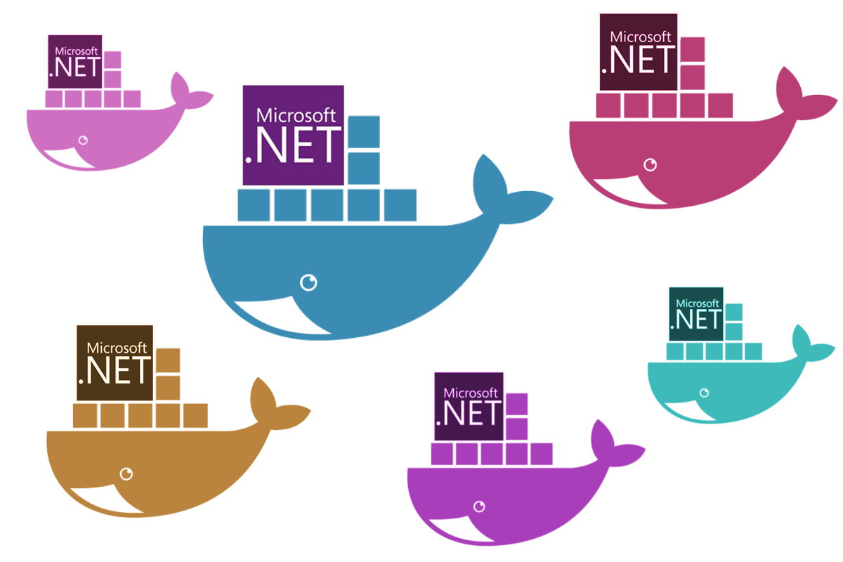 Exploring the  NET Core Docker files: dotnet vs aspnetcore
