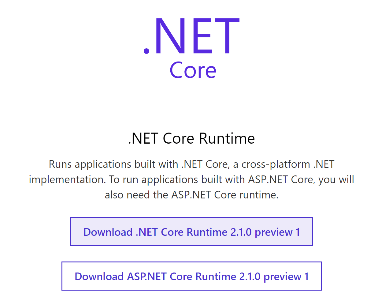 Exploring the Microsoft.AspNetCore.App shared framework in ASP.NET Core 2.1 (preview 1)