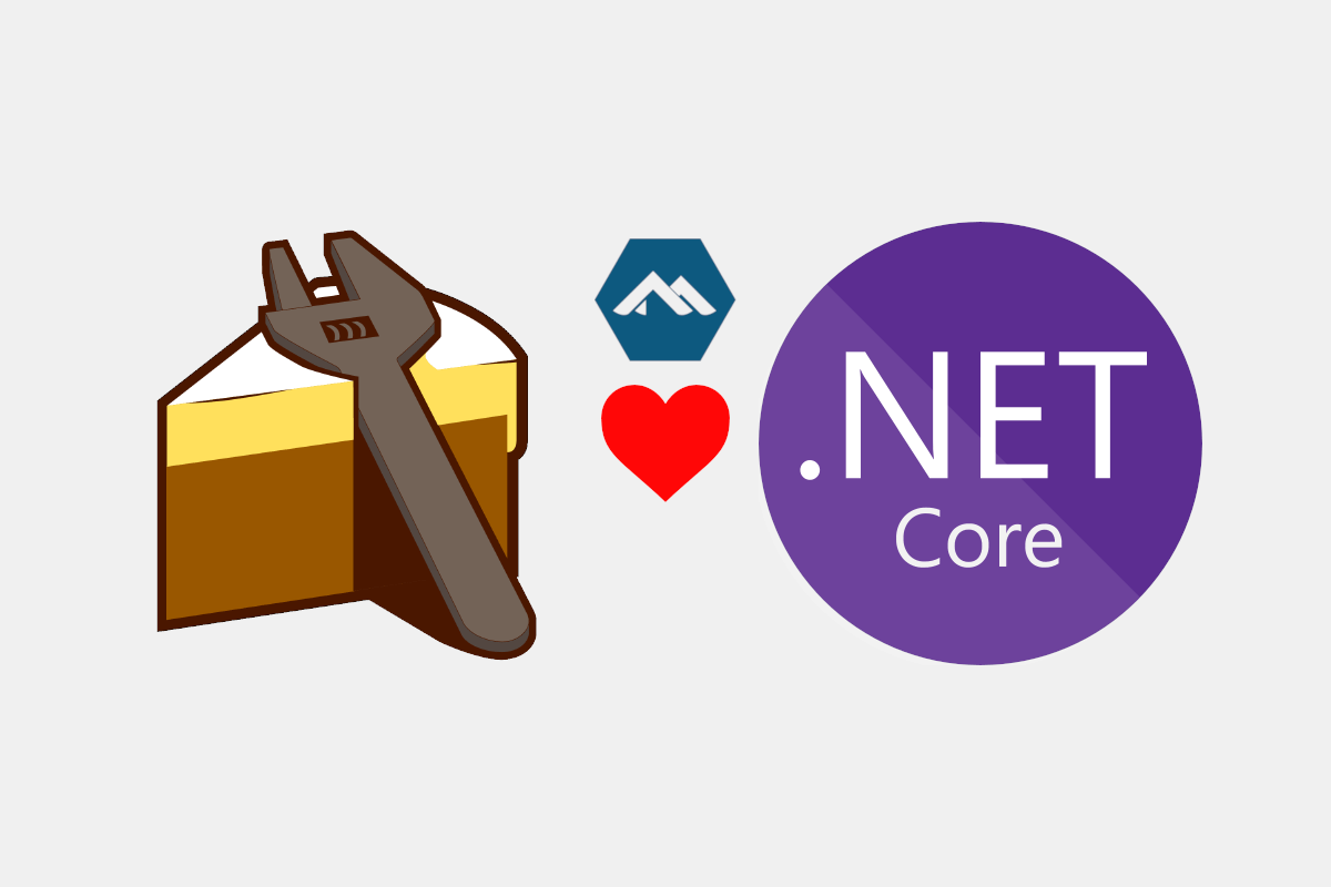 Banner image for A bootstrapper script for the Cake .NET Core Global Tool on Alpine using ash