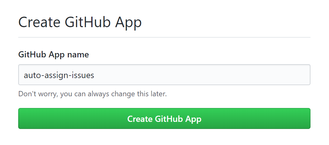 Creating a GitHub app with create-probot-app: Creating my first