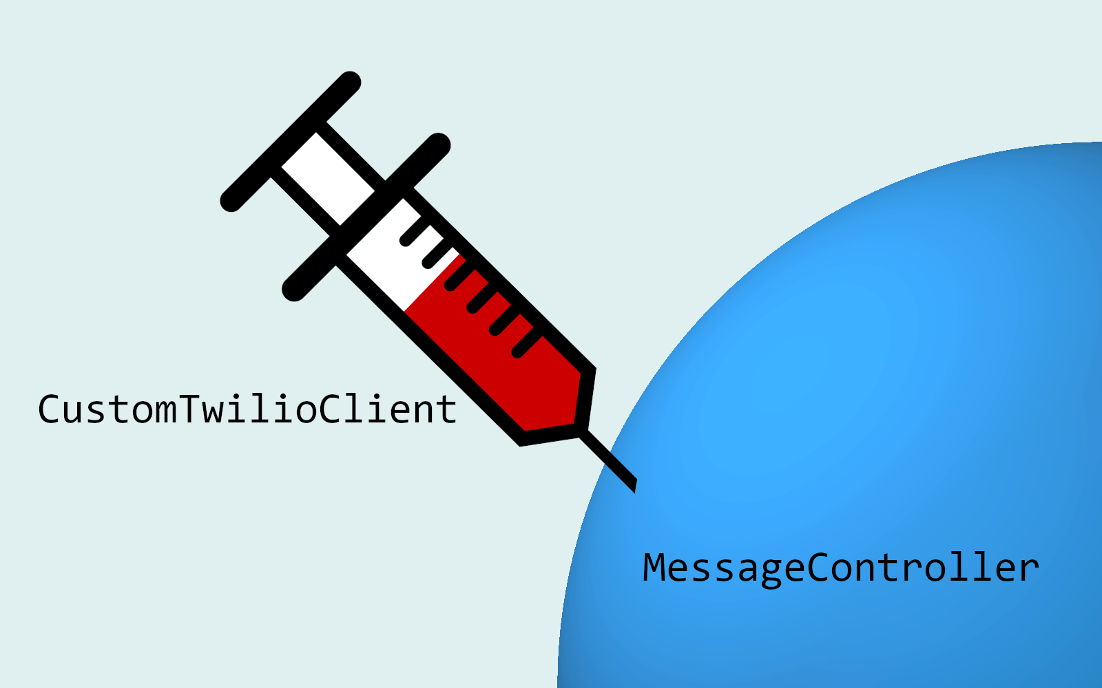 Using dependency injection with Twilio SMS and ASP NET Core 2 1