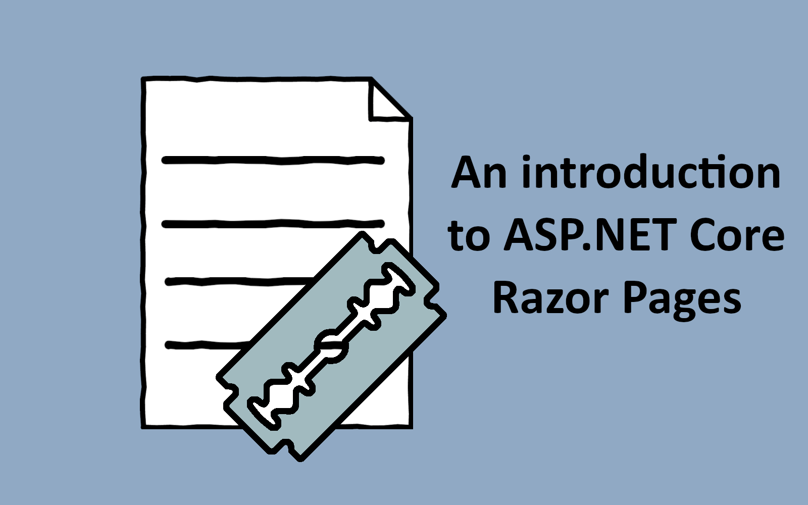 An introduction to ASP.NET Core Razor Pages